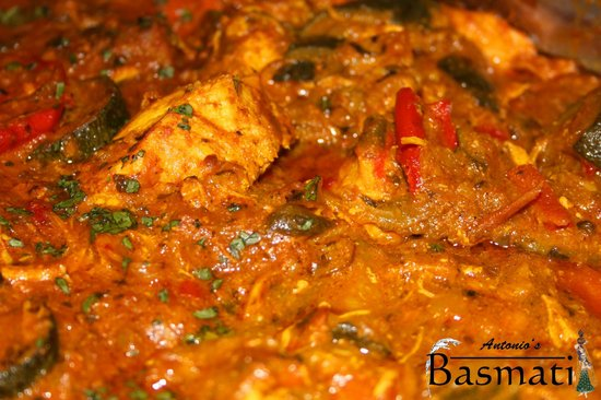 Antonio's Basmati: Home-made traditional curries