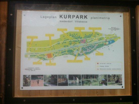Parco e Percorso Salute: Piantina del parco