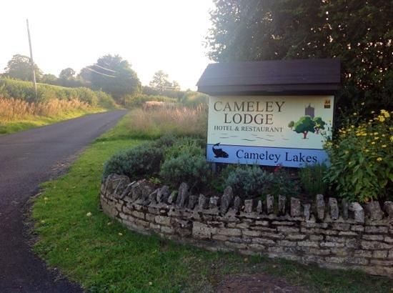 Cameley Lodge Hotel : Zufahrtstraße/Eingangangsschild
