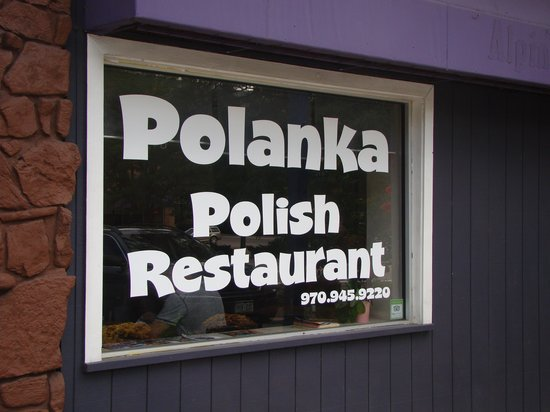 Polanka: Tucked into a little strip of stores