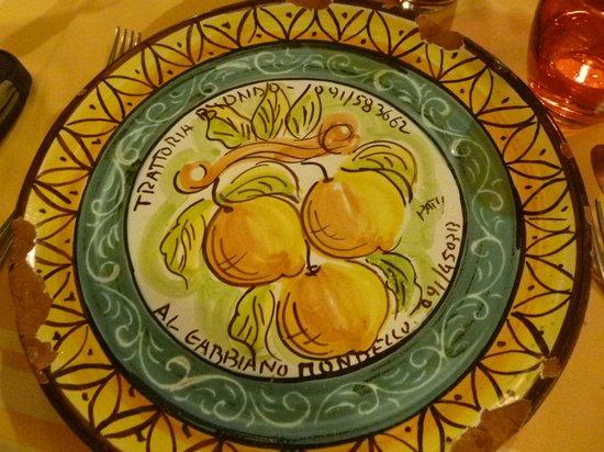 Trattoria Biondo: Assiette traditionnelle