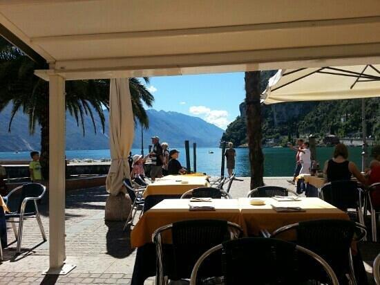 la terrazza - Picture of Bellavista, Riva Del Garda - TripAdvisor