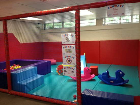 Funways: Separate toddler play area