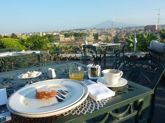 UNA Hotel Palace: Raviolo Fritto con Ripieno di Ricotta