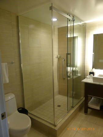 Westin Wall Centre Vancouver Airport: Hotel Room Shower Bathroom