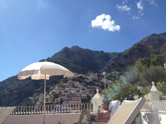 Hotel Marincanto: view from pool deck