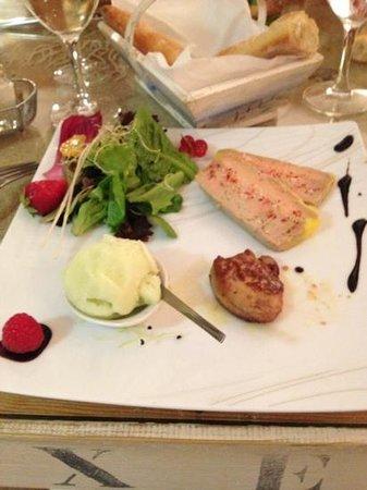 Les Embruns : chaud froid de foie gras