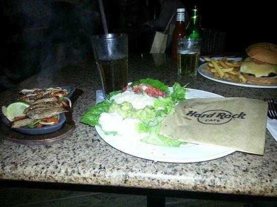 Hard Rock Café Caracas: nada del otro mundo. la carne muy dura.