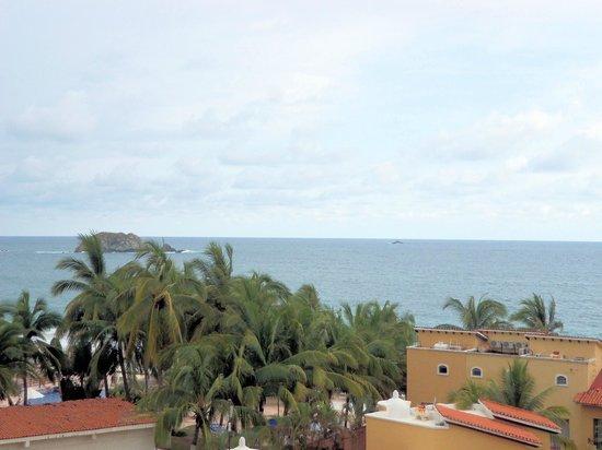 Tesoro Ixtapa : View from the Hotel's restaurant.