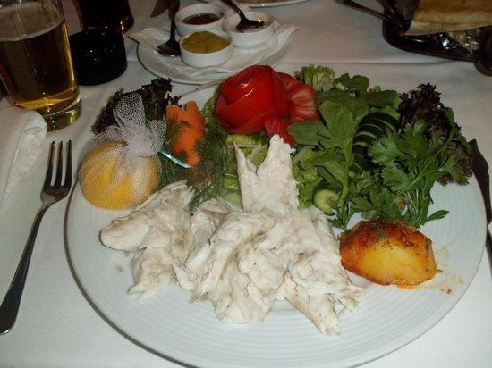 The Chef Restaurant: saltfish