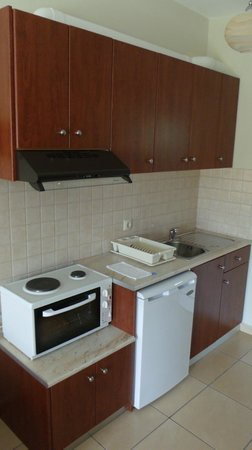 Villa Marianna: Kitchenette
