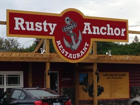 Rusty Anchor Restaurant, Pleasant Valley, Cape Breton, Nova Scotia