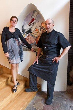 Le Freiberg : Sonia et Sacha