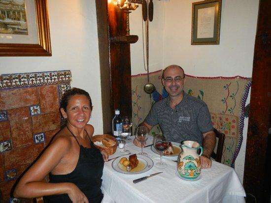 Insider's Madrid: Lunch at Botin - Ernest Hemingway's favorite table