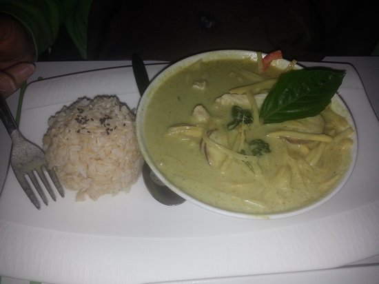 Asian green curry lewisville tx