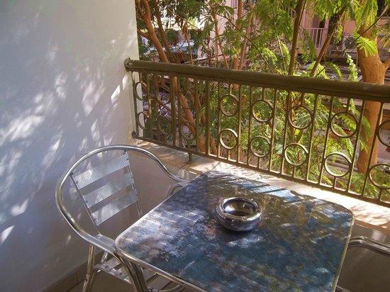 Al Qidra Hotel: balcony of standard room 108