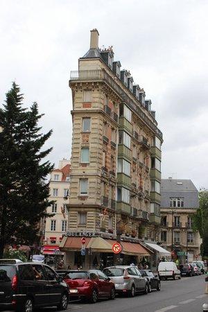 """Hotel de Notre Dame """"Maitre Albert"""": Район отеля"""