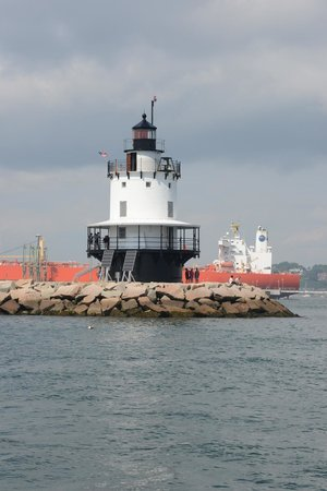 Casco Bay: View from tour boat