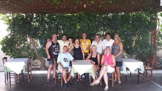 The family together in Anatoli