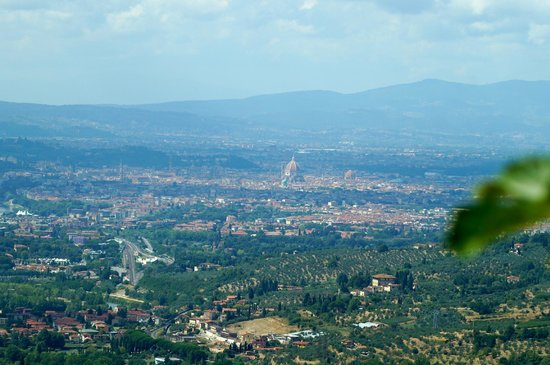 Casale Fontibucci: Daytime view of Florence