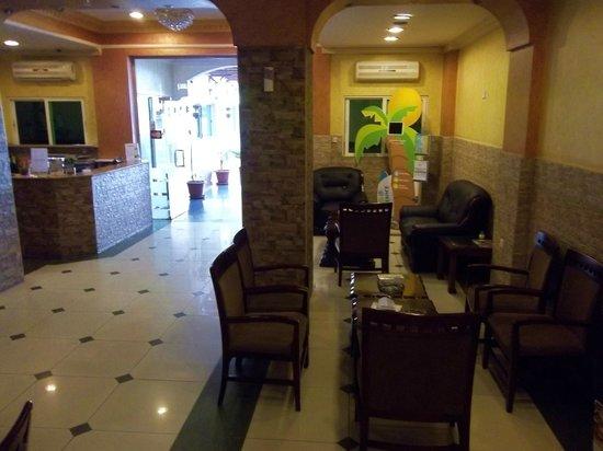 Al Qidra Hotel : lobby