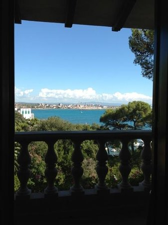 Hotel Leopoldo: the view of our hotel room #24