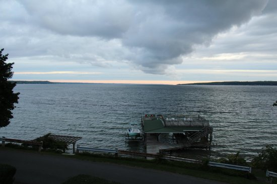 Silver Strand at Sheldrake: view to the lake