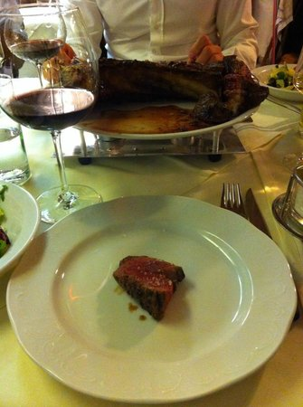 Il Mare: piece of steak