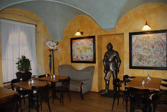 Red Chair Hotel: Breakfast room/Lobby