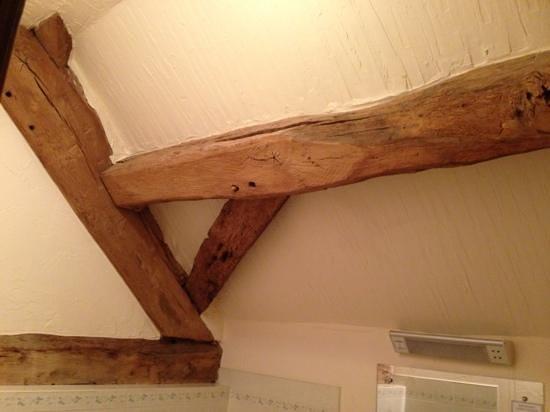 Sandhole Farm: beams