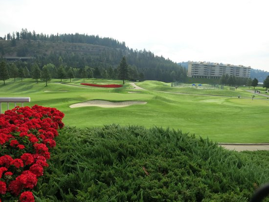 The Coeur d'Alene Resort: Golf course