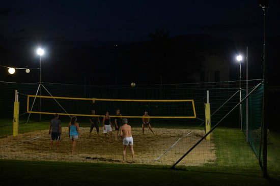 Hotel Mandelhof: Volleyball