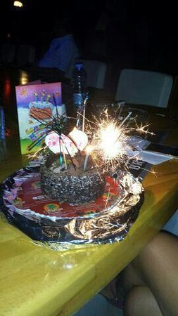 Harman Hotel: my birthday cake