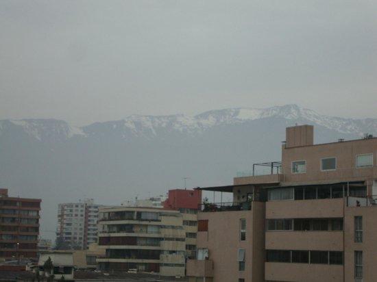 Nogales Express: Vista do apartamento - Cordilheira dos Andes