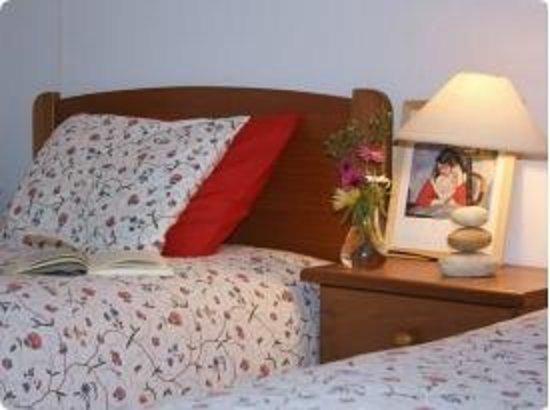 Monte das Buganvilias: Two single beds - Casa Palmeira