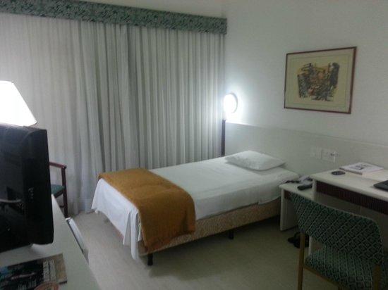 Boulevard Plaza Hotel Belo Horizonte: Cama