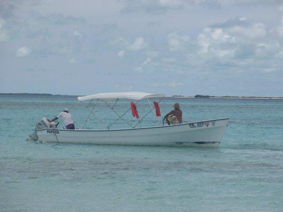 Posada La Cigala: o barco