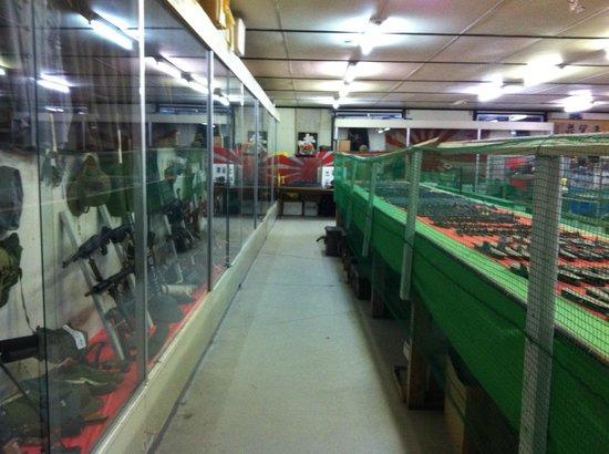 Nasu War Museum: 館内