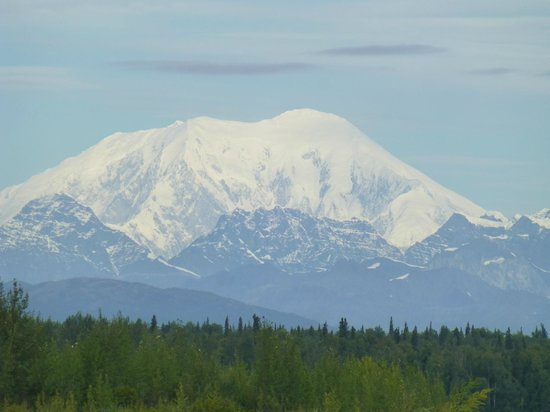 Talkeetna River Guides - Day Trips: On a clear day, you can see Denali!