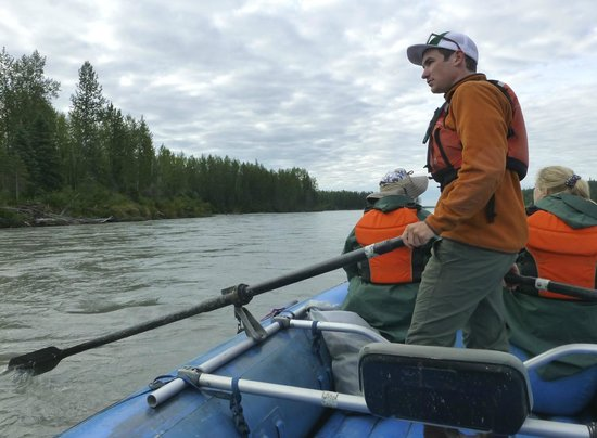 Talkeetna River Guides - Day Trips: Jake was our friendly and knowledgeable guide