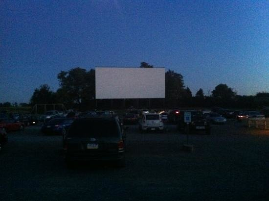 Newville, PA: night time at the drive-in