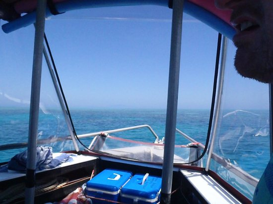 Mission Beach Charters: Sitting in the boat