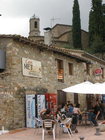 Restaurant Can Met: Façada del Restaurant