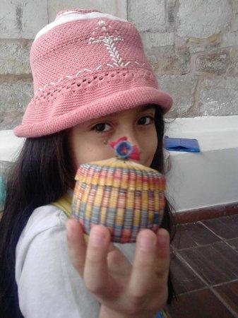 Artesanías elaboradas en chin de Tenza Boyacá