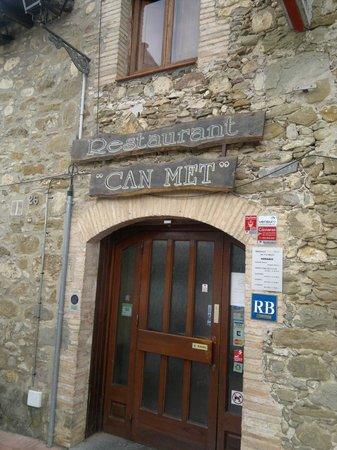 Restaurant Can Met: Entrada Principal