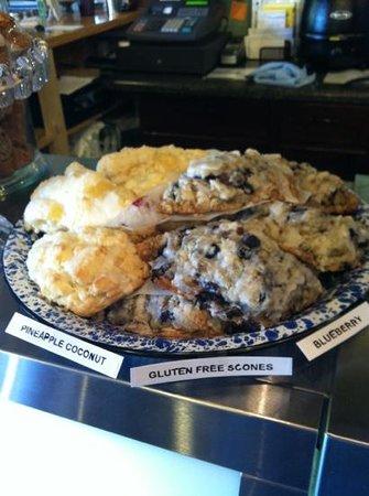 Sweetea's Tea Shop: gluten free scones