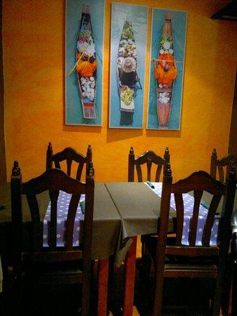 Pizzeria RUMBERA: Detalle de mesa