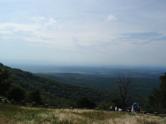 Mount Magazine State Park: Wedding at Cameron Bluff Overlook Drive
