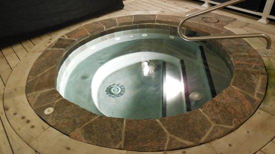 Touchstone Resort on Lake Muskoka : Hot tub