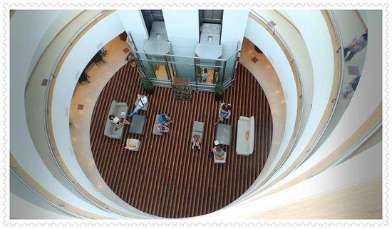 Solplay Hotel de Apartamentos : View from Elevator
